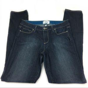 Paige Skyline Skinny Denim Jeans, size 28.